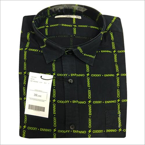 Mens Casual Check Shirt