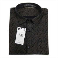 Mens Square Dotted Shirt