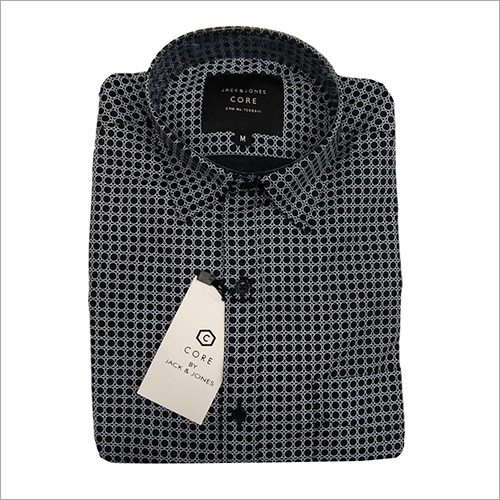 Mens Polka Dotted Shirt