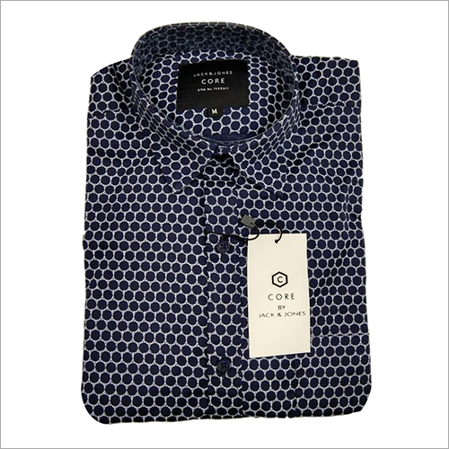 Mens Formal Dotted Shirt