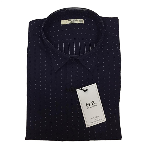Mens Party Wear Dotted Shirt