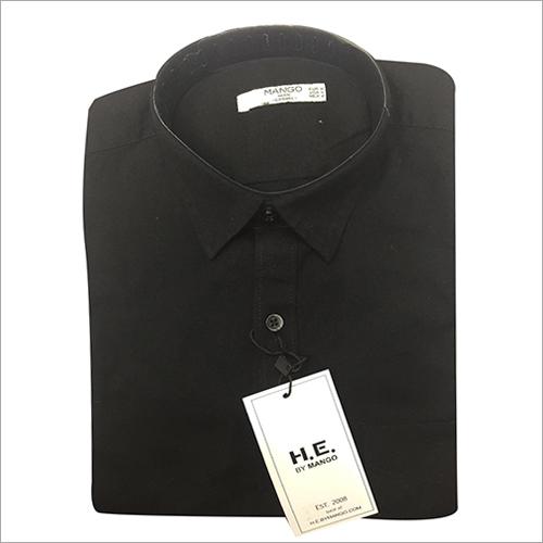 Mens Formal Plain Shirt