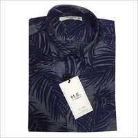Mens Leaf Printed Shirt
