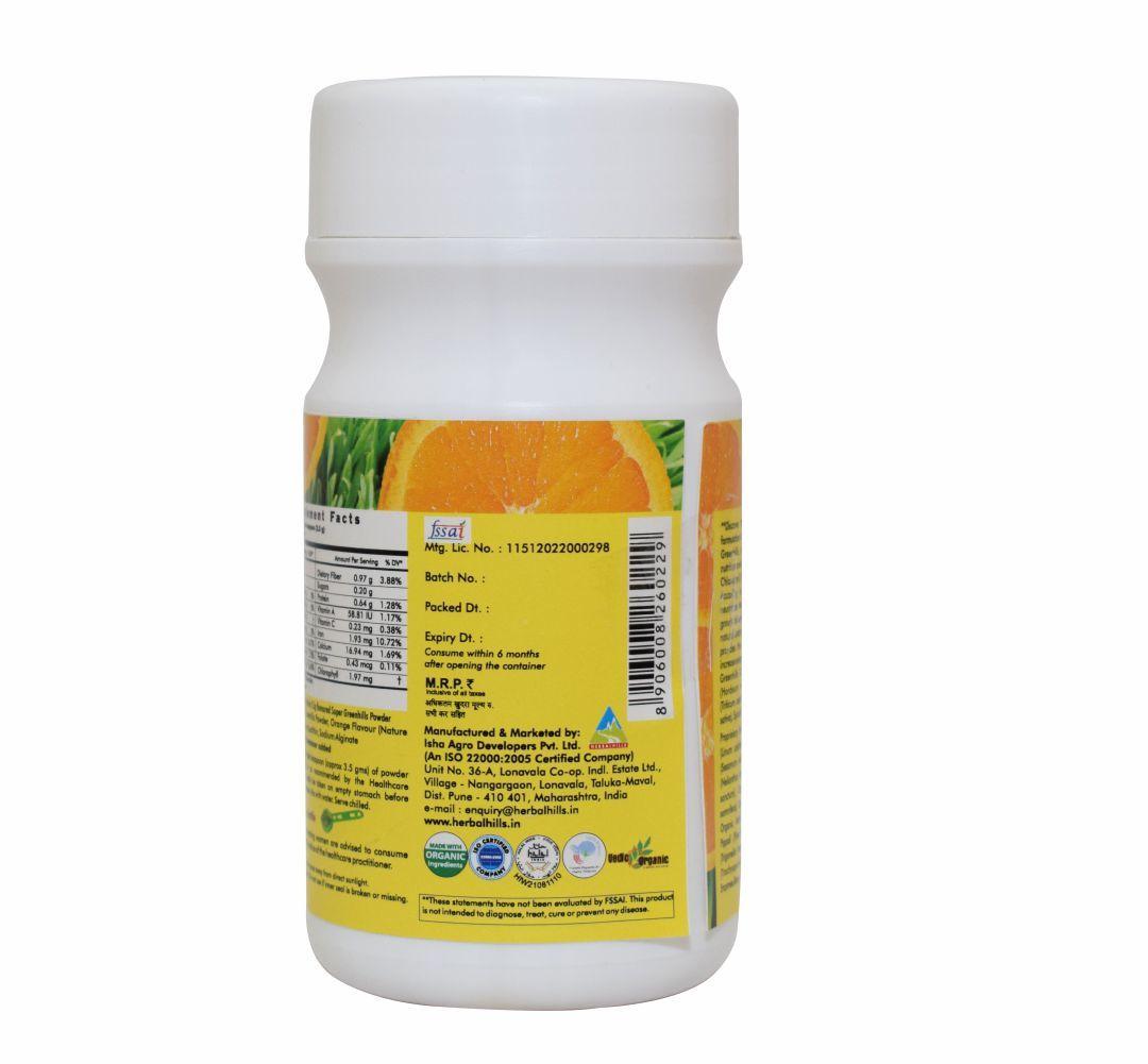 Nutritional Powder - Super Greenhills Orange Powder
