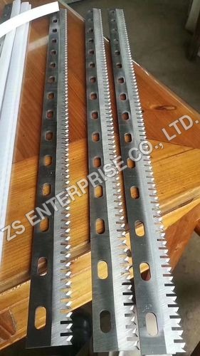 Serrated Cutting Blades/Perforate cutting knife