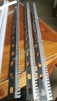 Serrated Cutting Blades/Perforate cutting knife for plastic and paper
