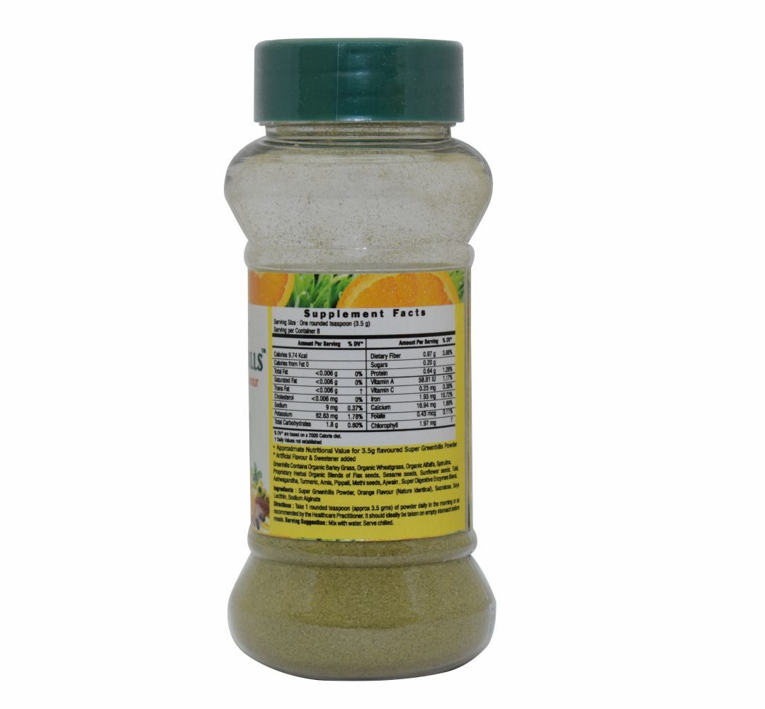 Nutritional Powder - Super Greenhills Orange 30 gm Powder