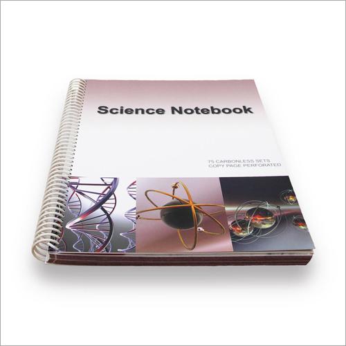 Spiral Science Notebook