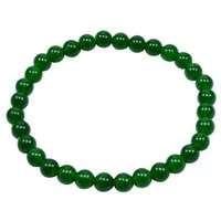 Handmade Jewelry Manufacturer Green Quartz, 6mm Round Beaded, Layering Healing, Jaipur Rajasthan India Yoga Bracelet