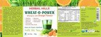 Wheatgrass Wheat-o-power 100gm orange powder - immunity & Blood Purification