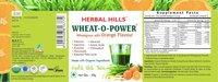 Wheatgrass Wheat-o-power 30gm orange powder - immunity & Blood Purification