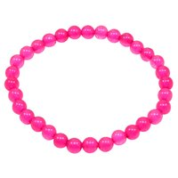 Handmade Jewelry Manufacturer Pink Quartz 6mm, Beaded Layering, Stretchable Bracelet Jaipur Rajasthan India