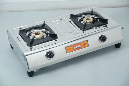 2 Burner Domestic LPG Gas Stoves