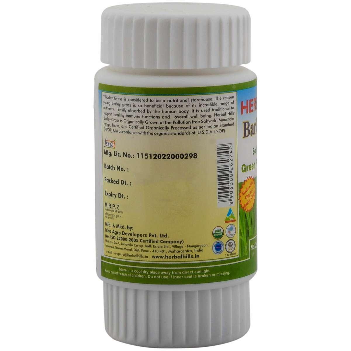 Organic Barley Grass 60 tablets