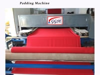 Padding machine