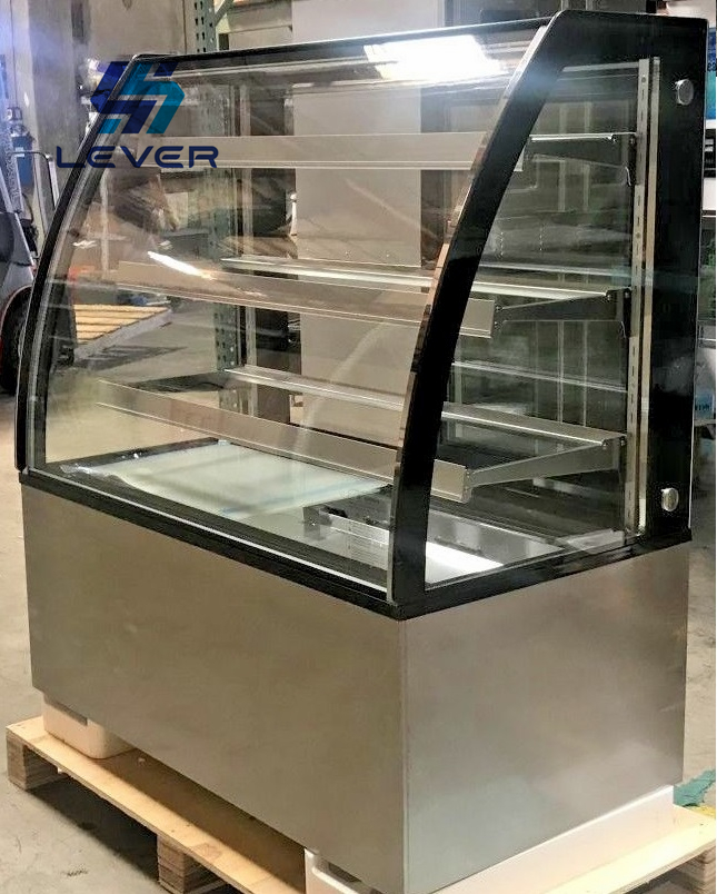 J-Shaped Glass Tempering Furnace for Freezer