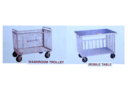 Commerciail WASHROOM TROLLEY