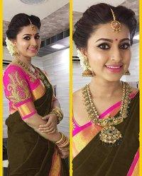 Wedding Wear Banglori silk Saree