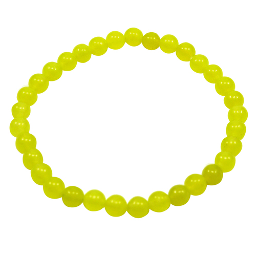 Handmade Manufacturer Yellow Quartz Bracelet, Unisex Women Men Bracelet, Stretchable Bracelet Jaipur Rajasthan India