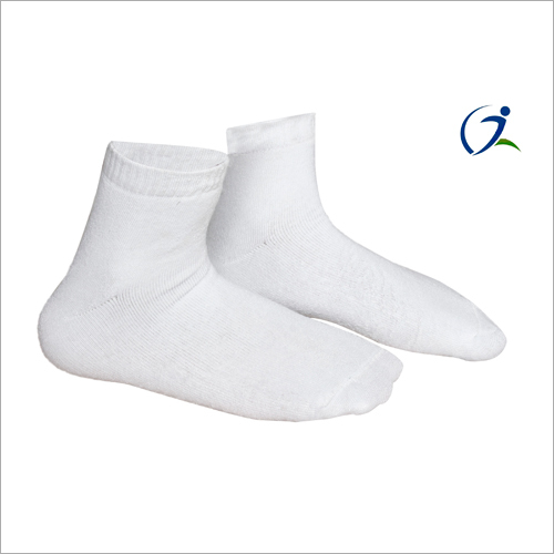 Plain White Socks