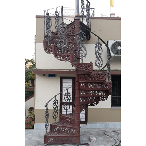Antique Cast Iron Staircase