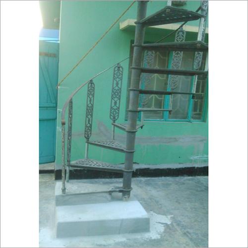 Designer Cast Iron Spiral Staircase