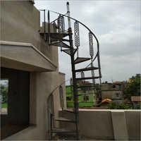 Round Spiral Staircase