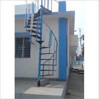 Coated Cast Iron Staircase