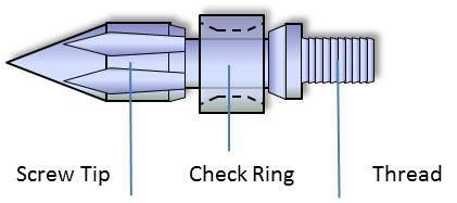 injection moulding screw barrel