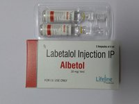 Labetalol 20 mg / 4ml injection