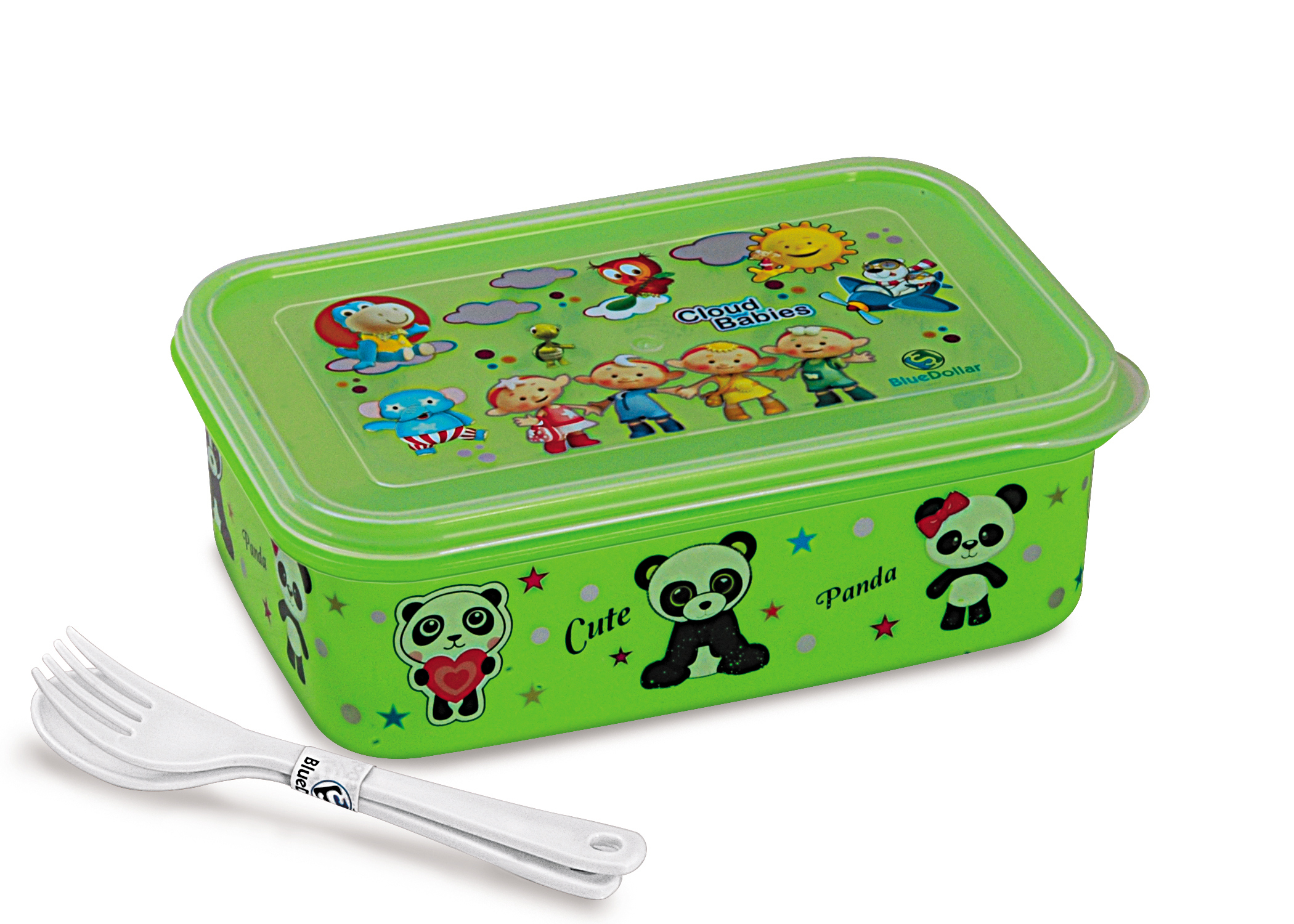 Little Champ Plastic Lunch Box