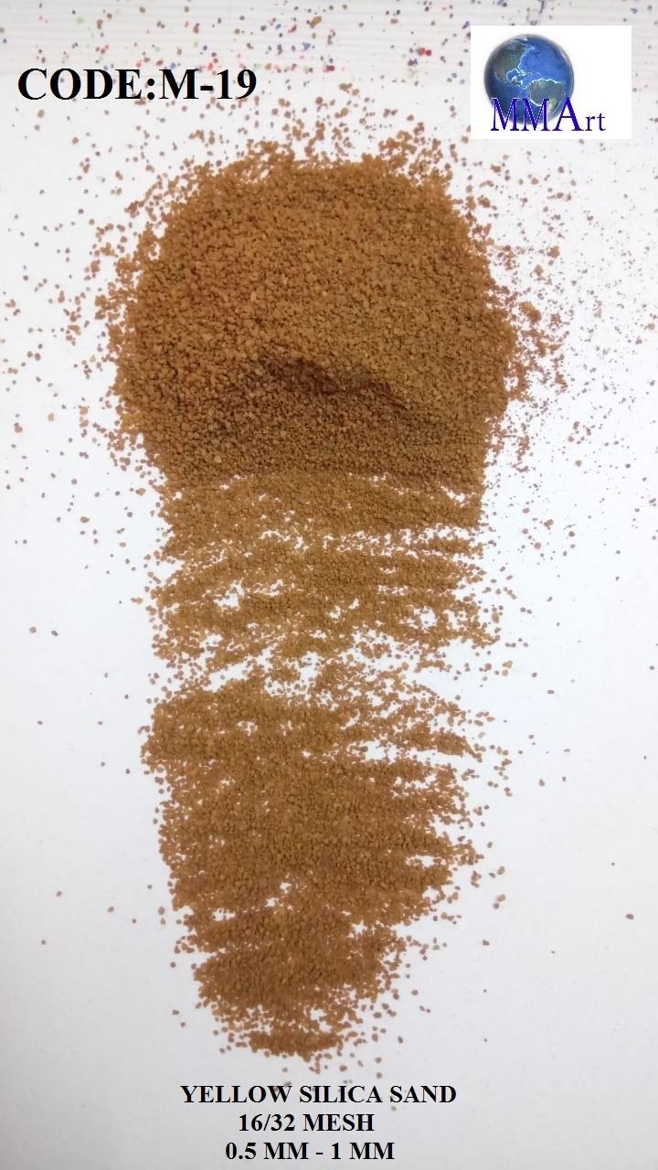 Jet Black Silica Sand