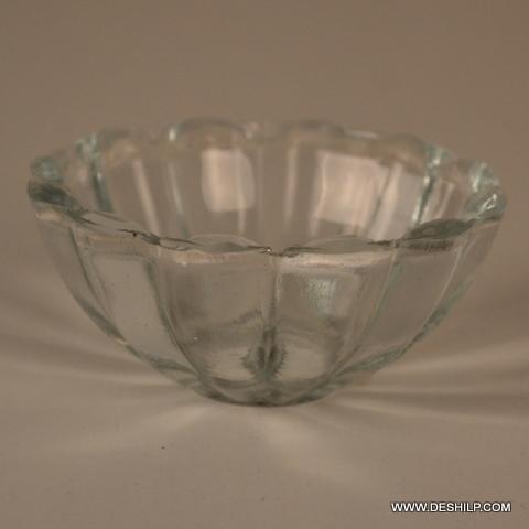 Clear Glass Kitchenware Bowl Set