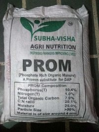 Phosphate rich organic manure (PROM)