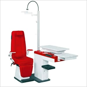 Refraction Chair Unit Doctor Model with Doctor Stool and Remote Drum