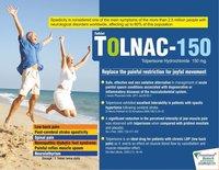 Tolperisone Hydrochloride 150 mg