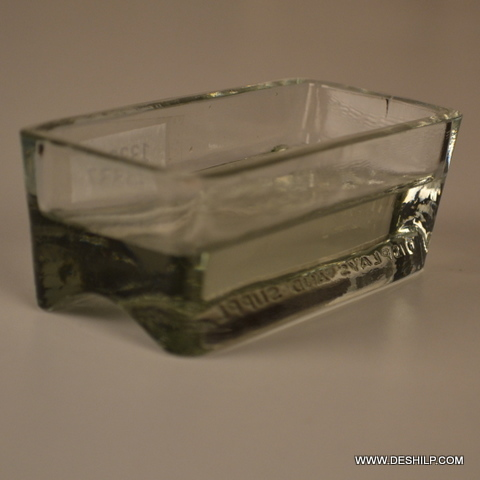 Clear Glass Antique Bowl