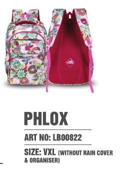 Phlox Art - LB00822 (VXL) - Without Raincover & Organiser