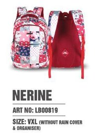 Nerine Art - LB00819 (VXL) - Without Raincover & Organiser