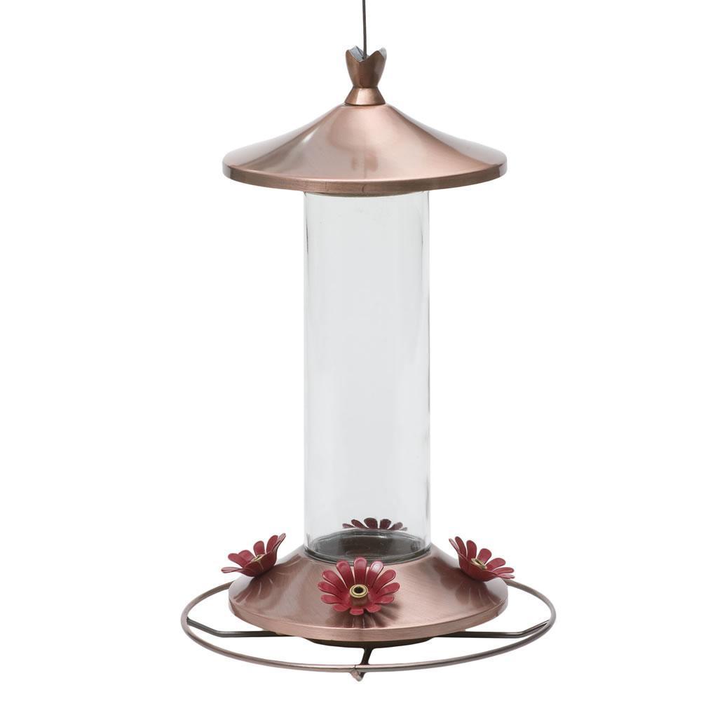 Copper Humming bird Feeder