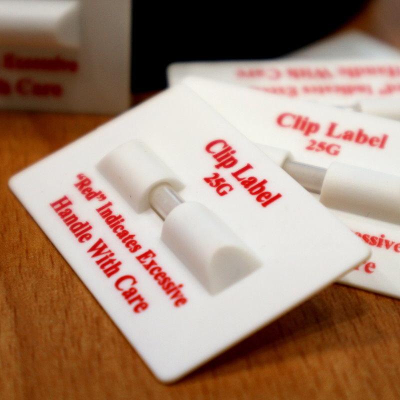 25G Clip Label