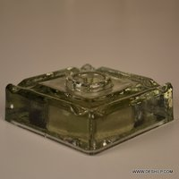 Glass Stick Candle Holder