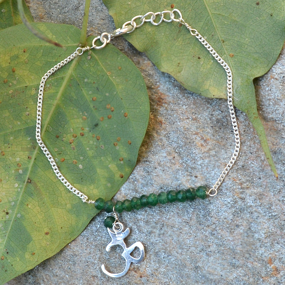 Rondelle Beaded Handmade Jewelry Manufacturer Aventurine 925 Sterling Silver