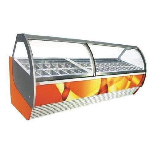 Refrigerator Ice Cream Display Counter