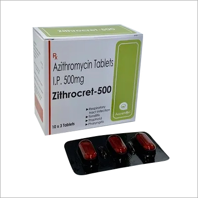 Azithromycin 500mg Tablet