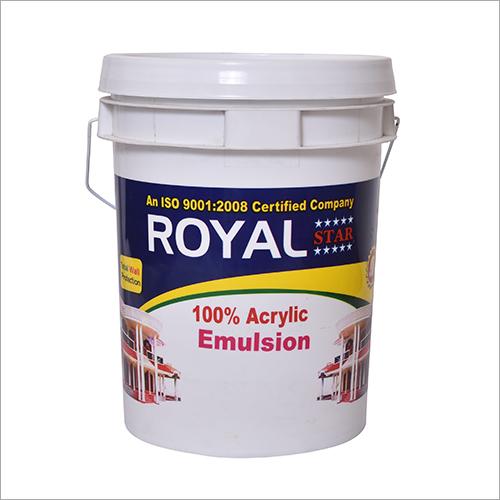 100 Percent Acrylic Exterior Emulsion