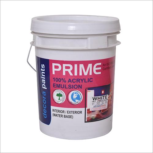 100 Percent Acrylic Intrior Emulsion