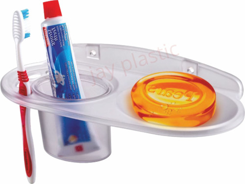 PP Tumbler Holder With Soap dish