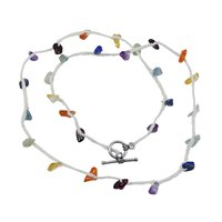 Amethyst, Garnet, Handmade Jewelry Manufacturer Citrine, Carnelian, Lapis Lazuli 925 Sterling Silver Jaipur Rajasthan India Necklace