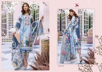 Printed Cotton Suit Dress Material